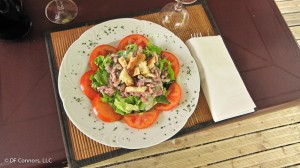 Salade Lardon from La Remise et Son Jardin in cucuron, France